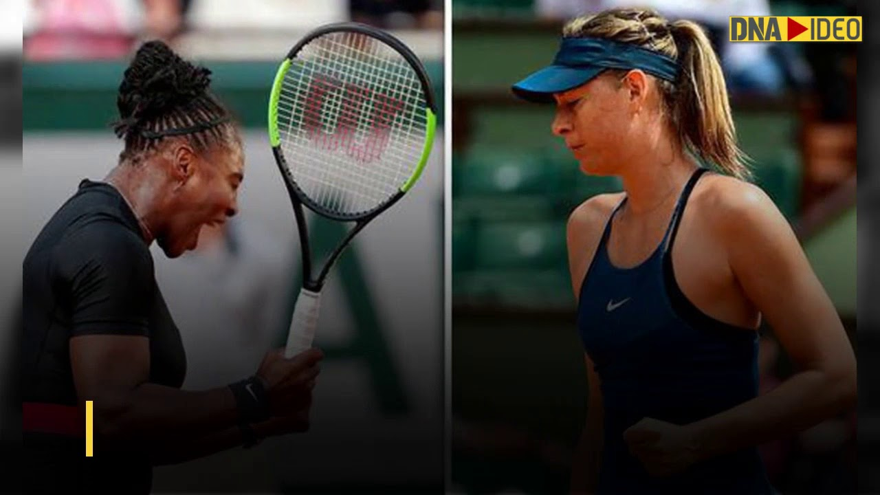 Serena Williams-Maria Sharapova face-off at French Open 2018