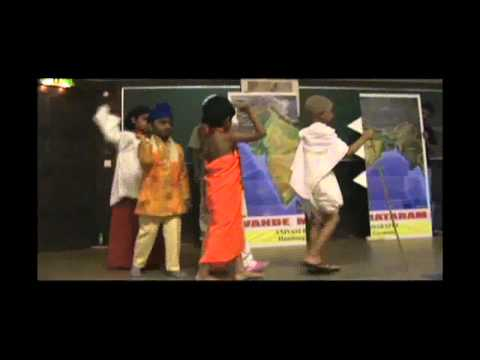 Mahatma Gandhi - A Skit by Team Anivasi Bharathi