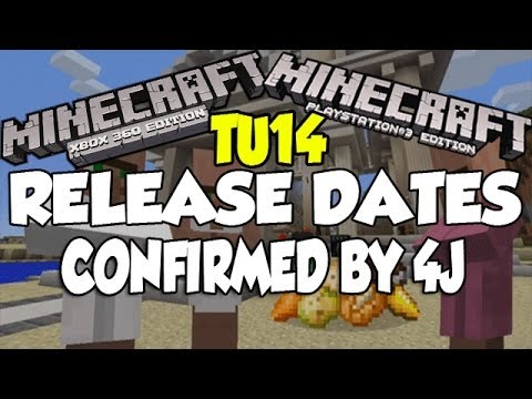 Minecraft [XBOX360 & PS3] TU14 Release Date Confirmed By 4J