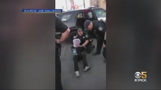 Caught On Camera: Sacramento Police Place 'Spit Mask' On 12-Year-Old Detainee