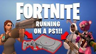 Fortnite Battle Royale on Playstation 1!!