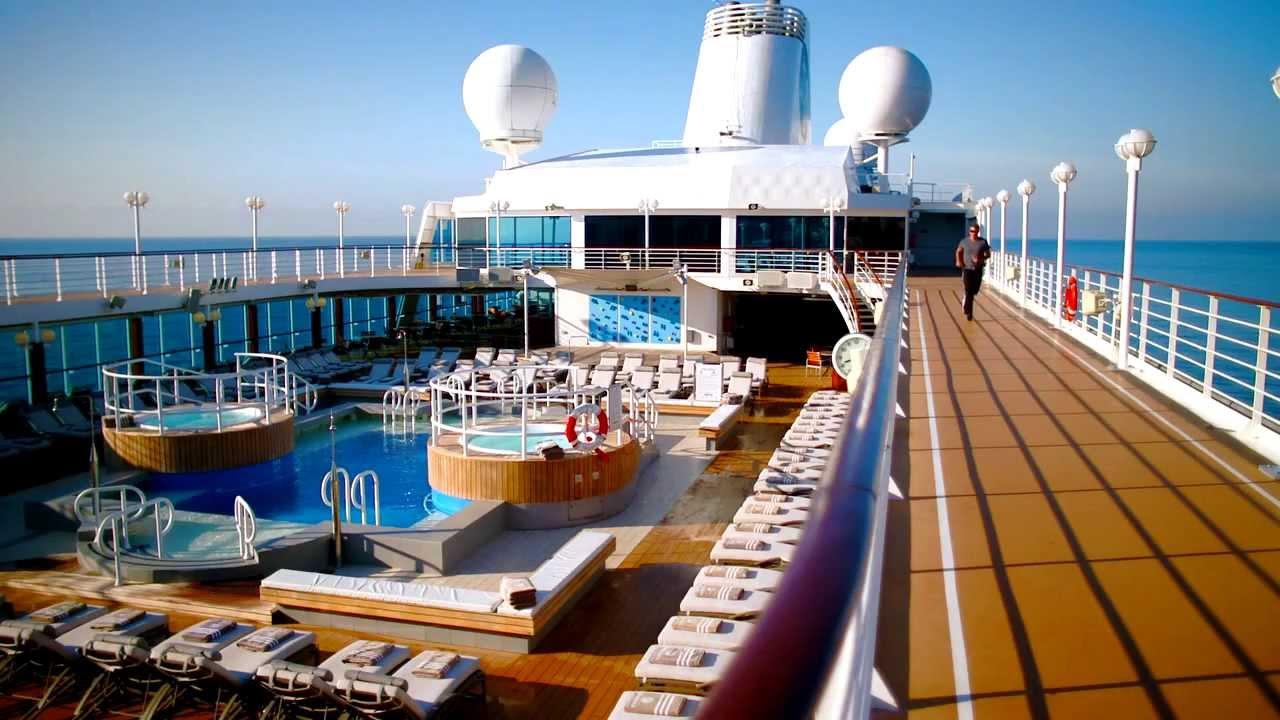 Life On Board An Azamara Cruise Ship Youtube