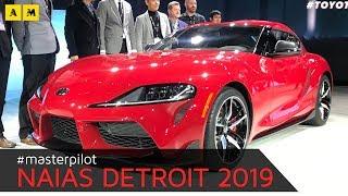 Toyota Supra 2019   Dal vivo al NAIAS 2019 di Detroit [ENGLISH SUB]
