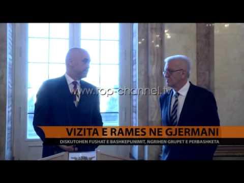 Rama në Gjermani, kërkon ekspertizë për arsimin profesional - Top Channel Albania - News - Lajme