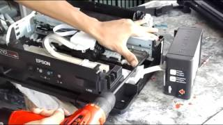 cara mengganti timing belt di epson l220 atau l120