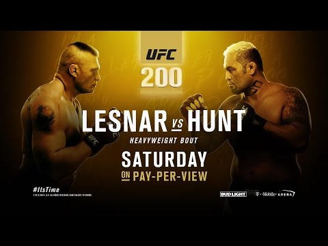 Everything you need to know about Brock Lesnar vs. Mark Hunt