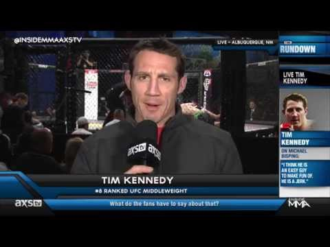 Updates From Tim Kennedy About His Fight With Michael Bisping on Inside MMA
