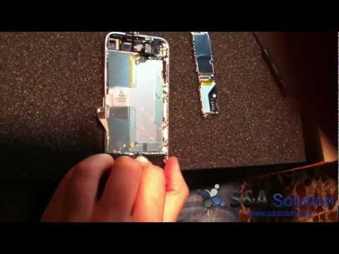 Riparare vetro (front e retro) dell'iPhone 4 - Sasolution.it