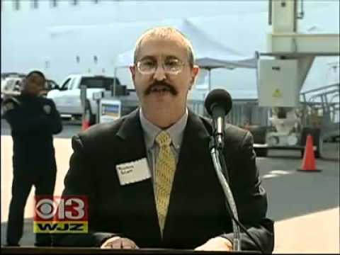 TEAM - Port Of Baltimore Gets New Boarding Bridge CBS Baltimore