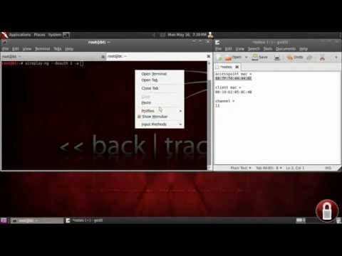 How To Crack WPA2 Backtrack 5   Aircrack   YouTube
