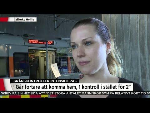 """ID-kontrollerna avskaffas: """"Nu kommer det gå fortare att komma hem"""" - Nyheterna (TV4)"""