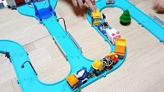 Robocar Poli Road Play Set Police Car Ambulance Fire Truck Toy Cars ColorPongSong