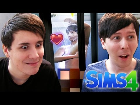 DIL GETS STEAMY - Dan and Phil Play: Sims 4 #6