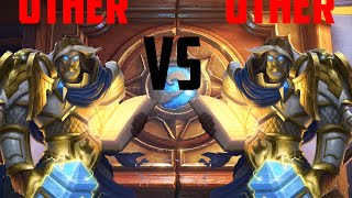 UTHER CONTRA UTHER MEJORADO | HEARTHSTONE PVP