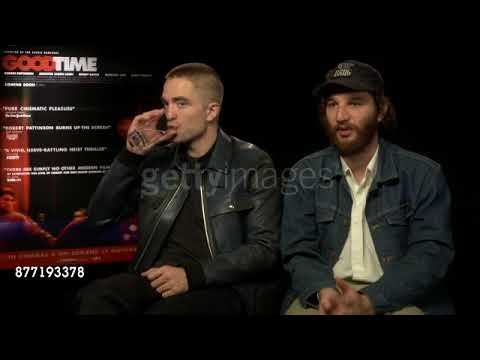 Getty: Robert Pattinson & Joshua Safdie At 'Good Time' Interview