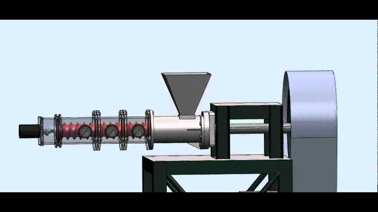 Funcionamiento De Las Extrusoras De Soja Nutriking Youtube