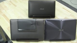 ASUS Padfone vs Transformer Prime vs Transformer TF101
