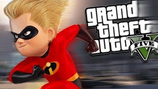 GTA 5 Mods - THE INCREDIBLES MOD w/ DASH & POWERS (GTA 5 PC Mods Gameplay)
