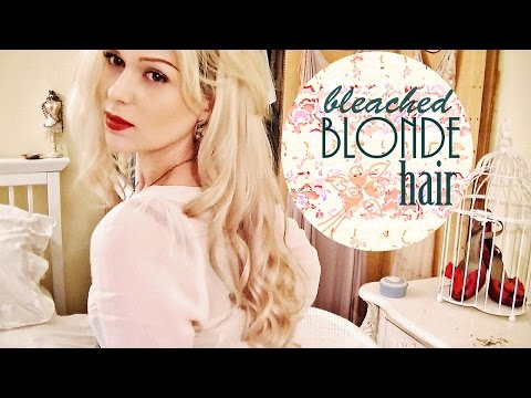 HOW TO BLEACH HAIR - FAST + WITHOUT DAMAGE!
