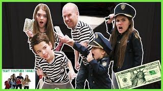 COPS AND ROBBERS At Night! / That YouTub3 Family