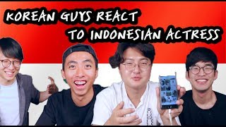 Download Lagu KOREAN GUYS REACT TO INDONESIAN ACTRESS Gratis STAFABAND