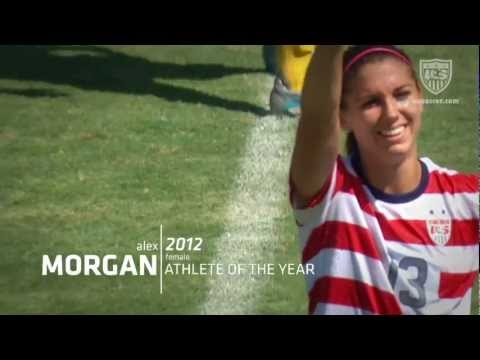 Alex Morgan: 2012 US Soccer Female Athlete of the Year