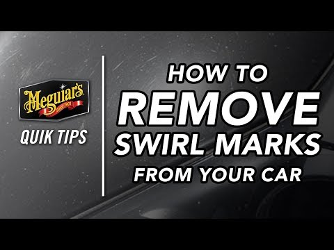 How to Remove Swirl Marks From Your Car