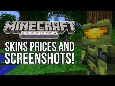 Minecraft (Xbox 360) - SKINS PRICES, Release Date, Screenshots & MORE!