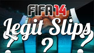 LEGIT SLIPS SPECIAL | FIFA 14 ULTIMATE TEAM