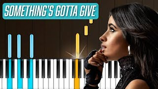 """Download Lagu Camila Cabello - """"Something's Gotta Give"""" Piano Tutorial - Chords - How To Play - Cover Gratis STAFABAND"""
