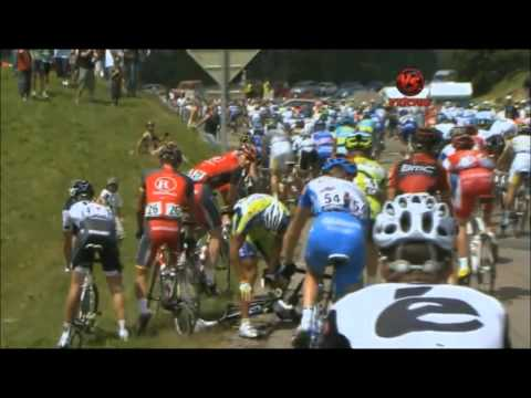 Compilation de Crash Cyclisme