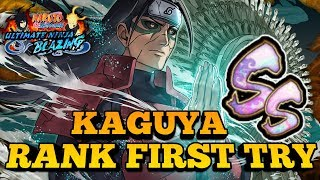 Theres NO WAY I Beat It This FAST?! SS Rank Kaguya First Attempt! Ultimate Ninja Blazing