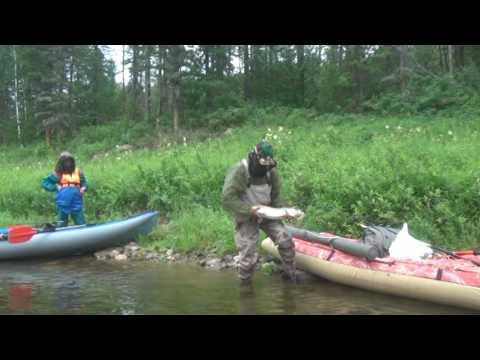 байдарочник рыбаков