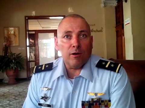 Coronel Luis Alfonso Torres Jaramillo habla de la jornada reclutamiento en Santa Marta