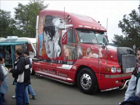 Camion americain de lisa youtube for Camion americain interieur