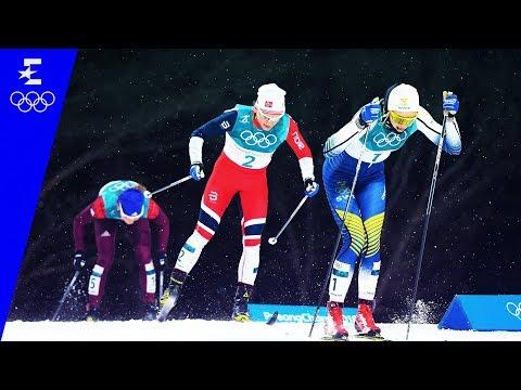 Cross-Country Skiing | Ladies' Sprint Classic Highlights | Pyeongchang 2018 | Eurosport