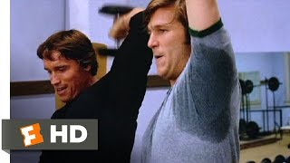 Stay Hungry (2/11) Movie CLIP - Workout With Joe (1976) HD