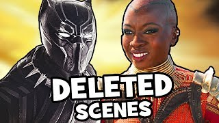 Black Panther DELETED SCENES, Alternate Ending + Post Credits & Missing Characters