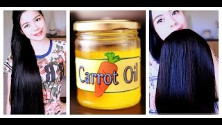 How to Make Carrot Oil For Preventing Split Ends Breakage Hair Fall and Hair Growth Benefits Beautyk