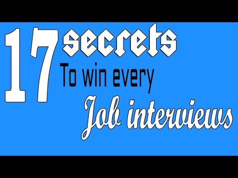 Top 17 tips to win every job interviews