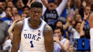 Zion Williamson's Viral Moments