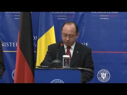 Declaraţii de presă Bogdan Aurescu – Frank-Walter Steinmeier