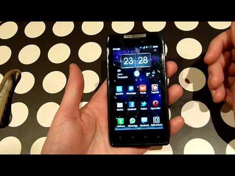 Videoreview en español del Motorola Razr