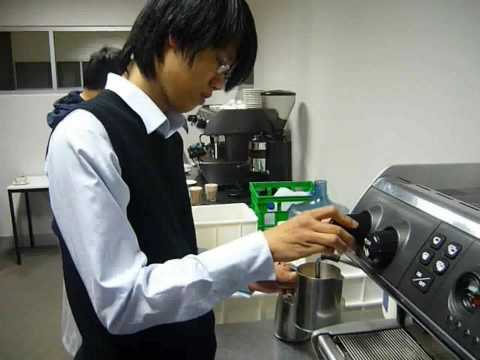 English for Work Course - Coffee Training @ The Meridian International School Sydney Australia