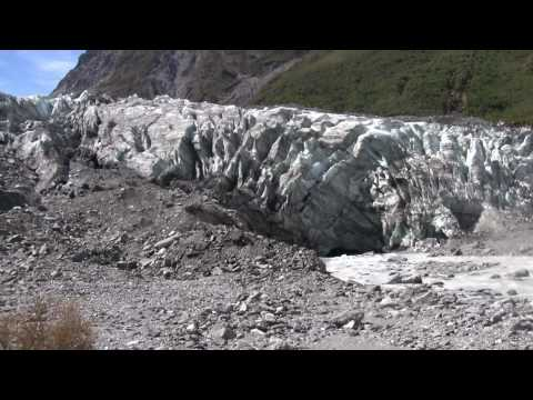 A short hike to a magnificent view of Fox Glacier, New Zealand. In 1080P HD.