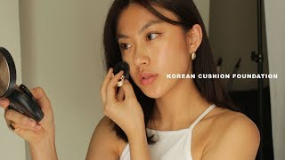 Korean Cushion Foundations in the Darkest Shade Review | Haley Kim