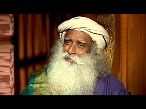 Ndtv's Vikram Chandra Speaks To Sadhguru Jaggi Vasudev video