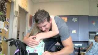 WWE Wrestler Ted DiBiase Jr. Thrills Patients and Staff at Batson Children's Hospital