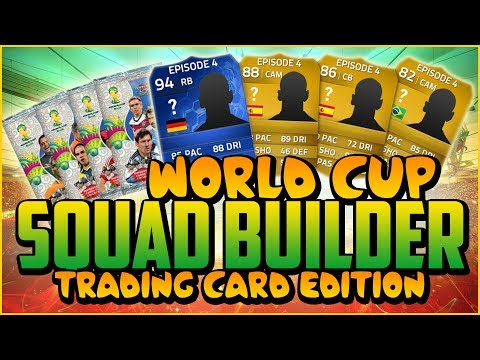WORLD CUP CARDS SQUAD BUILDER! w/ TOTY!   FIFA 14 Ultimate Team