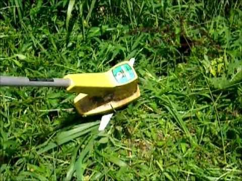 DIY Weed Eater/Weed Whacker/Trimmer Blade - YouTube